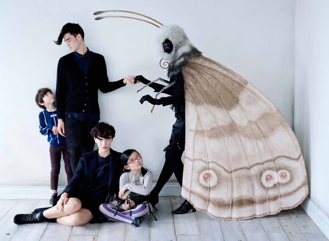 Bug-Family-Affair-photography-by-Tim-Walker-large-moth-Vogue-Japan-September-2012-saved-by-Chic-n-Cheap-Living